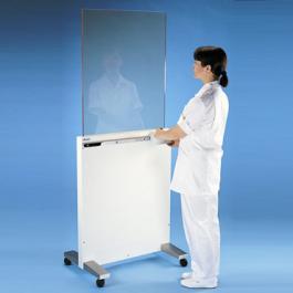 Mobile Röntgenschutzschirm